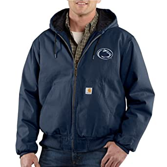 NCAA Penn State Nittany Lions Mens Ripstop Active Jacket by Carhartt