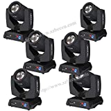 Shipping from USA 8pcs Moving Head Light Gobo Pattern Prism Rotating Lamp 230W RGBW 16 Channel DMX512 for Disco KTV Club Party
