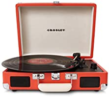 buy Crosley Cr8005A-Or Cruiser Portable Turntable (Orange)