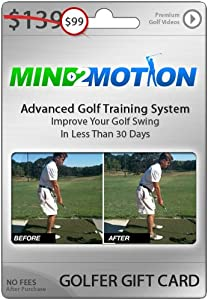 Golfer Gift Card: Mind2Motion Swing Instruction Videos by Mind2Motion