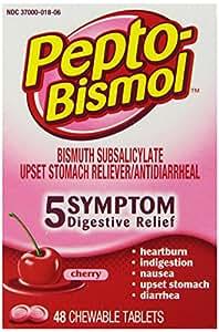 pepto bismol symptom relief