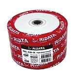 50 Ritek Ridata 52X CD-R 80min 700MB White Inkjet Hub Printable