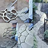 Sun Lorence Home Garden Path Paving Mold Pattern Concrete Stone Maker
