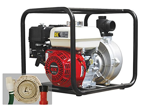 "Be Pressure Hpfk-2065Hr 2"" Fire Fighting Pump Kit, 126 Gpm, 6.5 Hp front-333078"