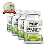 WOW Green Coffee Pack Of 4 With Free Wow Slim X Massager