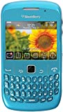 Blackberry Curve 8520 Unlocked Quad-Band GSM Phone with 2MP Camera, QWERTY Keyboard, Wi-Fi and Bluetooth - Sky Blue