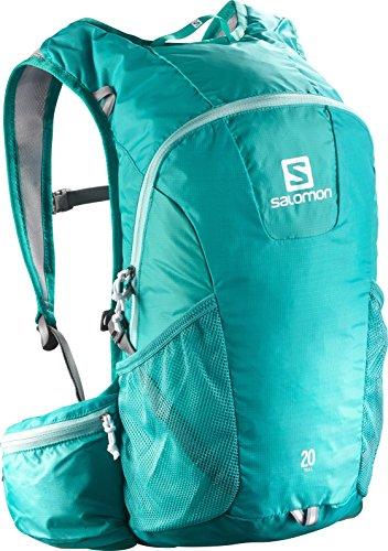 Salomon, Zaino Unisex per il running su strada e per l'escursionismo, 20 litri, TRAIL 20, Acquamarina, L37998400