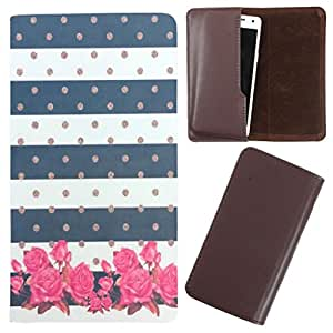 DooDa - For Intex Aqua Turbo 4G PU Leather Designer Fashionable Fancy Case Cover Pouch With Smooth Inner Velvet