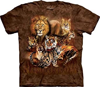 Cat Power T-Shirt 100% Cotton Short Sleeve Shirt in Youth, Teen, and Adult Sizes (Small Adult)
