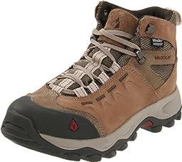 Vasque Women\'s Vista Waterproof Hiking Boot,Brindle/Rumba Red,10 M US