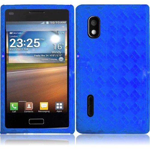 Cell Accessories For Less (Tm) For Lg Optimus Extreme 40G Tpu Cover Case - Blue // Free Shipping By Thetargetbuys