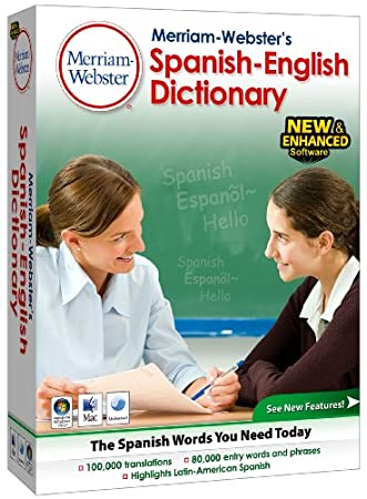 Merriam-Webster's Spanish English Dictionary, v.4