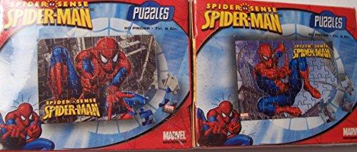 "Spiderman ""mini"" Puzzles ~ ""Crouch"" & ""Kick"""