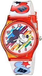 Disney Kids' W001964 Mickey Mouse Analog Red Watch