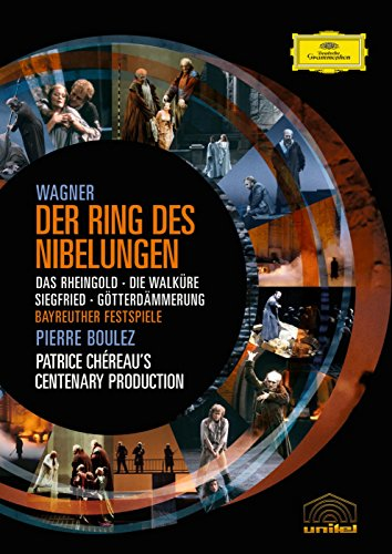 Wagner: The Ring of the Nibelung ( Das Rheingold / Die Walküre / Siegfried / Götterdämmerung) (Boulez/Chereau Ring Cycle) (Wagner Great Operas compare prices)