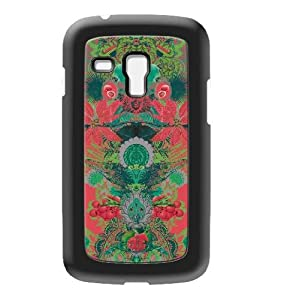 Modelabs Made In France Coque auto cicatrisante en silicone pour Samsung Galaxy S3 Mini Vert/ Rouge