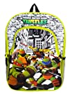 Tmnt Teenage Mutant Ninja Turtles Childrens School Backpack