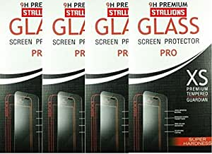Stallions Tempered Glass For Sony Xperia M4 Pack of 4