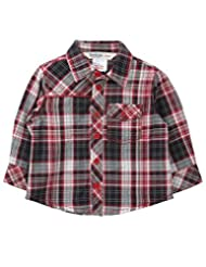 Yarn Dyed Check Shirt Red Check