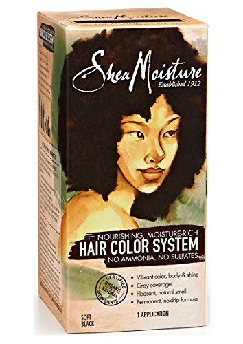Shea Moisture Soft Black Hair Color System (Shea Moisture Dye compare prices)