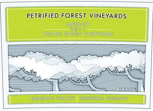 2011 Petrified Forest Vineyards Knights Valley Merlot 750 Ml