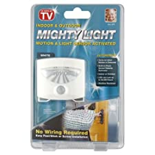 Mighty Light Light, Automatic, Indoor & Outdoor, White 1 light