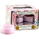 Yankee Candle 12-Piece Tea Lights, Snowflake Cookie