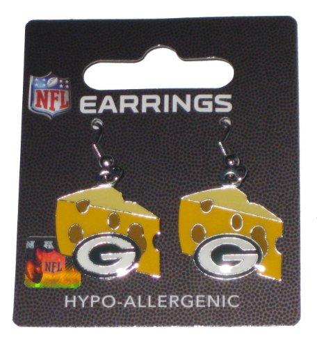 Green Bay Packers Cheese Dangle Earrings