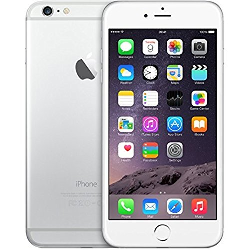 Apple IPhone 6 Plus, Silver, 16 GB (Unlocked)