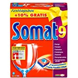 Somat 9 Tabs XL Mehrmenge +10%, 1,11 kg, 48+5 Waschladungenvon &#34;Somat&#34;