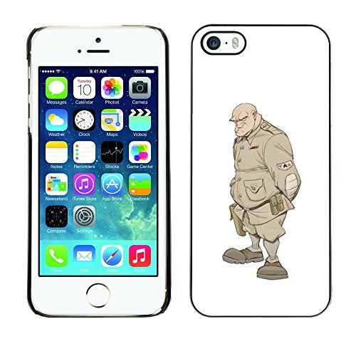 FlareStar Colour Printing Solider Monster Undead Warrior Soldat Plastic Case Cover Shell for Apple iPhone 5 / iPhone 5S