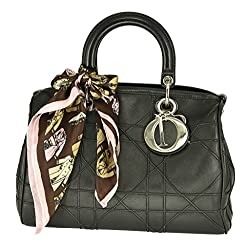 Vibrant Tote Bag Square Scarf Soft 100% Silk with Free Gift Box