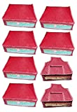 Atorakushon Combo Deal-Multipurpose 6Pcs Saree Cover And 2Pcs Blouse Cover