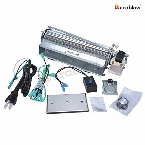 32 Off Durablow Gfk4 Fk4 Replacment Fireplace Blower Fan Kit For Heatilator Majestic