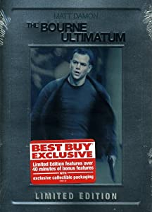 The Bourne Ultimatum (Limited Edition Steelbook)