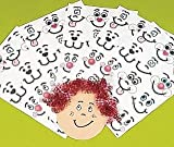 72 Make Your Own Funny Face Stickers for Kids Crafts Childrens Craft Stickers