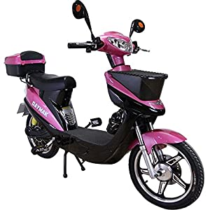Daymak Vienna Rocket 500W 72V Electric Scooter Bike Bicycle Ebike Moped Pink by Daymak