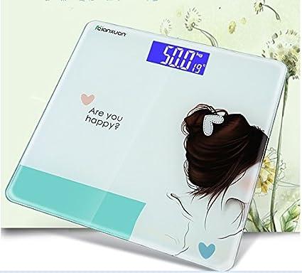 Jack Mall- Haushalts elektronische Waagen menschliche Gesundheit elektronische Waagen Platz niedlichen Cartoon präzise die Göttin mit einem Gewicht mit einem Gewicht von ( MUSTER : # 2 )