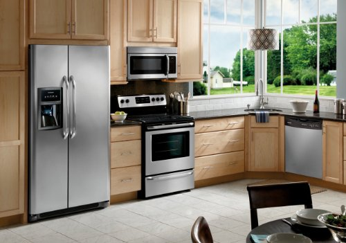 Frigidaire Stainless Steel 4 Piece Appliance Package #99