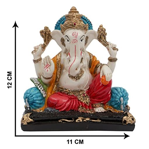 Affaires-Ideal-Gift-Beautiful-Ganesha-Ganesh-Ganpati-Murti-Idol-Statue-Sculpture-for-car-office-Decor-Ideal-Gift-to-Your-Loved-Ones-G-410
