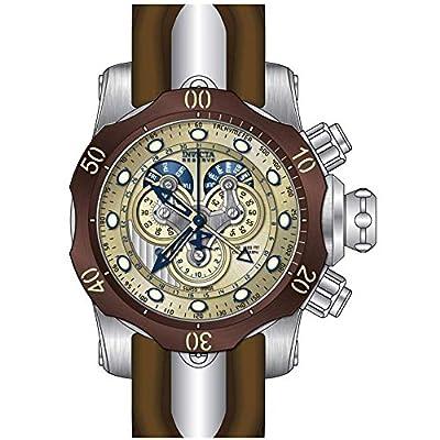 Invicta Men's 14461 Venom Analog Display Swiss Quartz Brown Watch
