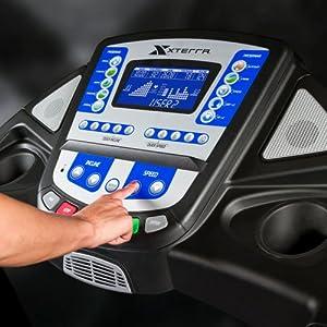 Xterra Fitness TR6.8 Treadmill, Black