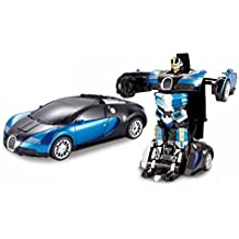 NYRWANA Radio Control Autobots Robot Cum Car Toy For Kids