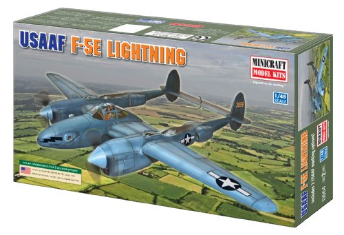 Minicraft F-5 Photo Recon USAAF with 2 Marking Options, 1/48 Scale