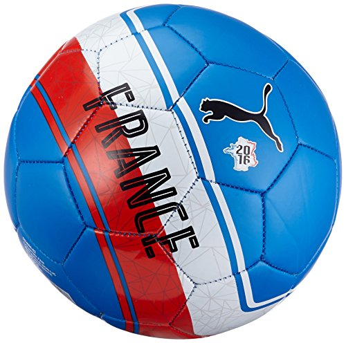 Pallone da calcio PUMA Country Fan Mini Balls non-LIC, Blue/Red/White/France, 1, 082608 02