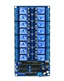 SainSmart 16-Channel 12V Relay Module for Arduino DSP AVR PIC ARM