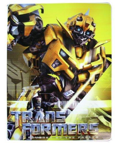 Revenge of the Fallen Transformers Royal Plush Raschel Throw - Bumblebee Throw Blanket