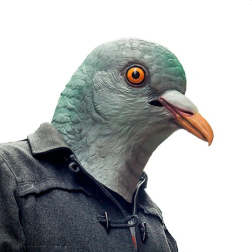 Accoutrements Pigeon Mask by Accoutrements