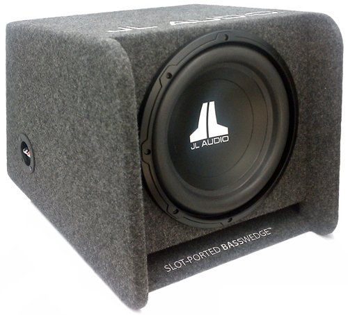 "Cp112W0V2 - Jl Audio 12"" 300 Watts Slot-Ported Enclosure"