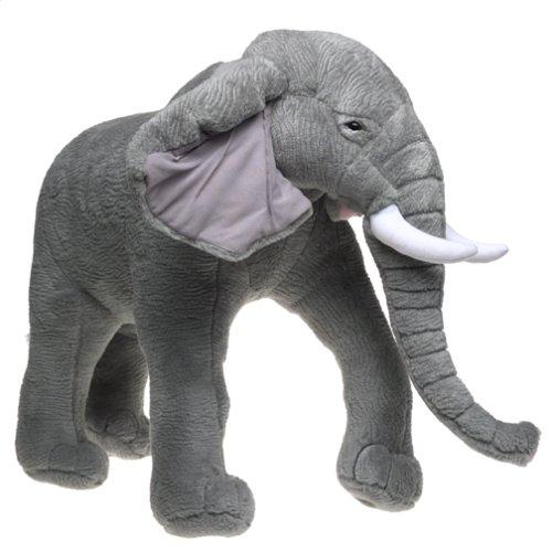 Elephant Stuffed Toy : Big plush elephant